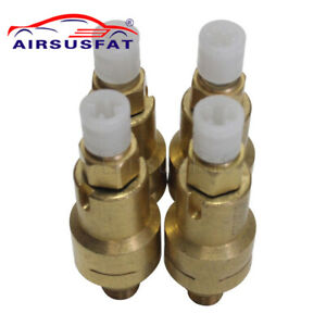4x Front Air Suspension For Audi A8 D3 Bentley Vw Phaeton Residual Valve New