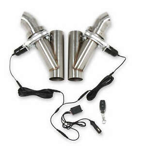 Hooker 3 Electric Exhaust Cut Out Dual Kit 12v Cigarette Lighter Plug In