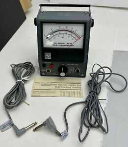 Ysi Model 42sc Tele thermometer W Probes Yellow Springs Instrument Handheld