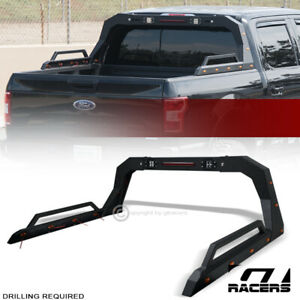 For Pickup Truck Adjusable Chase Rack Roll Bar With Brake Lamp Led Amber V2 Gop