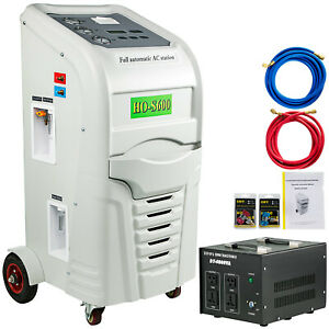R 134a Recover Recycle Recharge Machine R 12 Ho s600 Air Conditioning Vial