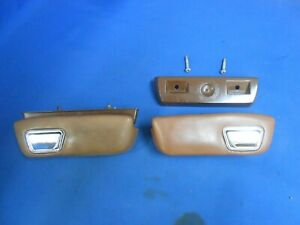 1974 Dodge Dart Arm Rest Base Ash Tray 1973 1975 1976 Pair Duster