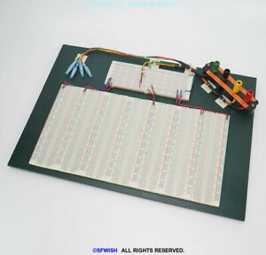 Large Custom Made Engineering Electronic Breadboard 16 x11 5880 Tie points