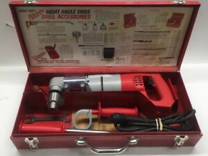 Milwaukee 1107 1 Right Angle Drill Kit With Case