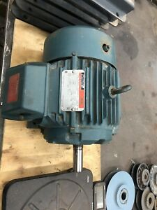 Reliance 3 Hp Electric Ac Motor 208vac 1755 Rpm 182frame 3 Phase