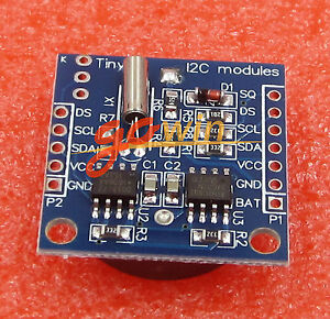I2c Rtc Ds1307 At24c32 Real Time Clock Module No Battery L1st