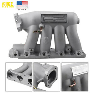 Us Aluminum Intake Manifold For 04 08 Acura Rsx Base 06 11 Civic Si K20z3 Silver