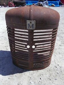 Farmall Sm Super M Tractor Original Ih Front Nose Cone Grill Bottom Insert