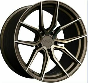 Xxr 559 19x10 5x120 40 Bronze Set Of 4 Rims Wheels