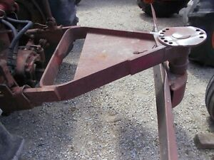Farmall Tractor 2pt Hitch Fast Quick Hitch 7ft 7 Swivel Grader Snow Stone Blade