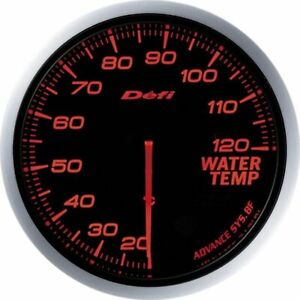 Defi Df10502 Advance Bf Water Temperature Gauge Red 60mm F S W Tracking Japan