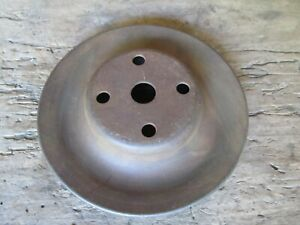 Mopar 383 400 440 Single Groove Water Pump Pulley 3698907 Nice