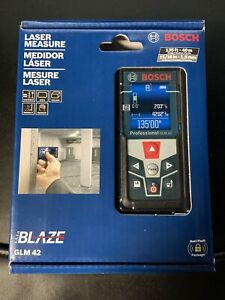 Bosch Blaze 135 Ft Laser Measure Glm 42 New Sealed