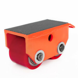Heavy Duty Cargo Trolley Machine Dolly Skate Machinery Roller Mover 2 5t 5500lb