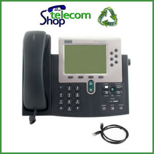 Cisco Ip 7960g With Sip Firmware Voip Phone W o Psu