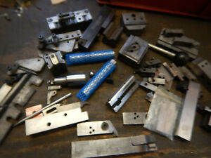 Pile Of Small V Blocks Jig Fixtures Tooling From Grinding Shop Lot Et64