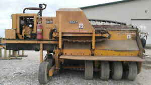 Scat 482b Tow behind Compost Turner