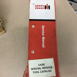 Case Ih International Service Shop Tools Manual Handbook Guide Maint Equipment
