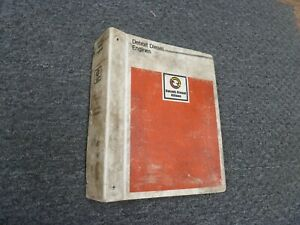 1971 1985 Detroit Diesel Allison 3 53 4 53 Engine Shop Service Repair Manual