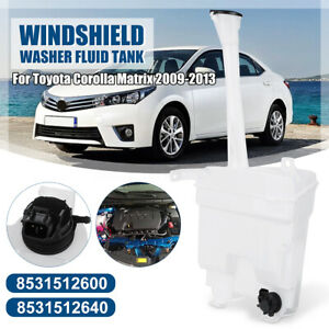 Windshield Washer Fluid Reservoir Tank W Motor For Toyota Corolla Matrix 09 13