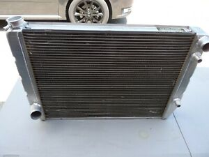 New Griffin Aluminum Radiator With Integral Oil Cooler