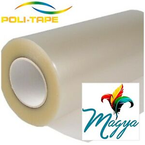 Poli tack 853 Low Tack Heat Transfer Tape 15 x30yd Made In Germany By Poli tape