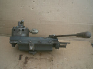 Turret Tail Stock From 10 Logan Lathe