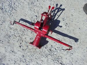 Farmall C Super C Ih Tractor Light Bar Holder Hydraulic Control Levers Lever