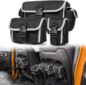 Molle Bags Seat Back Organizers Storage For 2018 2019 Jeep Wrangler Jl Rubicon