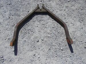Farmall 350 460 Rc Tractor 2pt Fast Quick Hitch Bottom Wishbone Bracket Holder