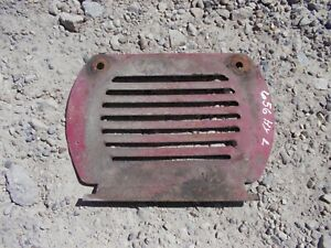 International Farmall 656 Hydro Tractor Hood Vent Side Cover Door