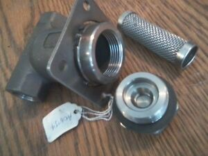 new Spraying Systems 1 2 tw ss 125psi 1 2 T style Liquid Strainer Valve