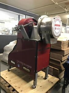 Abc Hansen Universal Mill Grinder Red Disk Mill Used
