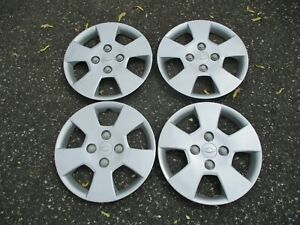 Factory 2004 To 2011 Chevy Optra 15 Inch Bolt On Hubcaps Wheel Covers