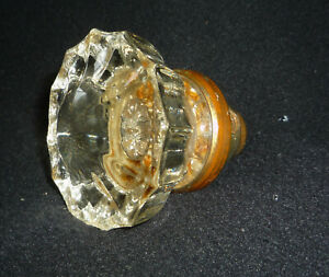 Antique Original 12 Glass Door Knob