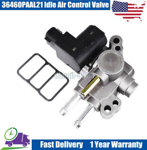 New 36460paal21 Idle Air Control Valve For 1998 2002 Honda Accord 2 3l Ex Lx Se
