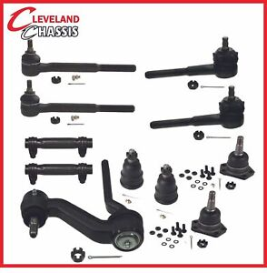 11 Pc Kit Tie Rod Ends Idler Arm Ball Joints Camaro Apollo Chevy Ii Omega 68 72