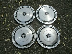 Genuine 1988 To 1993 Buick Regal 14 Inch Hubcaps Wheel Covers Set