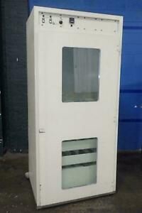 Bellco Glass 115v 40 Cuft Roll In Incubator With 20 Position Roller Apparatus