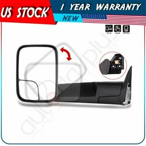 Manual For 1994 01 Dodge Ram 1500 94 02 2500 3500 Driver Lh Side Towing Mirror