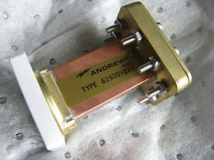 Nos Andrew Waveguide Load Termination Wr112 62900 112 7 05 10 Ghz