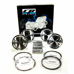 Cp Pistons Forged Set 85 5mm 9 0 1 For Eclipse Turbo 100mm Stroke 4g63 2g 95 99