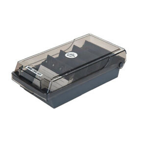 500 Cards Capacity Office Supply Business Card Box File Holder Name Cards