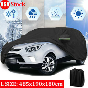 420d Oxford Suv Car Cover Waterproof Dust Protector Outdoor Resistant Breathable
