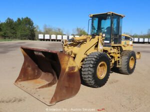 2002 Caterpillar 938g 3 yard Articulated Wheel Loader Tractor A c Cab Bidadoo