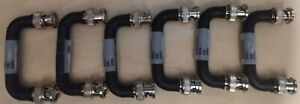 Lot Of 6 Ge Harris M a com Master Mastr Iii Station Module Interconnect Jumpers
