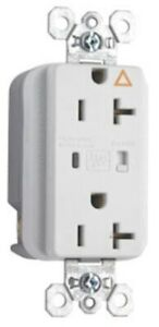 Pass Seymour Ig 5362wsp Tvss Receptacle W Alarm White 20a 125v Surge Protector