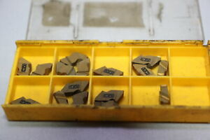 Assorted Carbide Inserts Partially Filled Boxes Kit 003