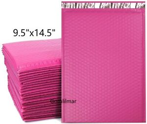4 9 5x14 5 Poly Bubble Mailers Shipping Mailing Padded Bags Envelopes Color