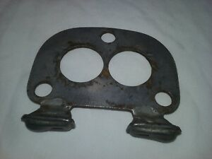 1930 s Stromberg 97 Holley 94 Carburetor Base Plate With Vents Ms785